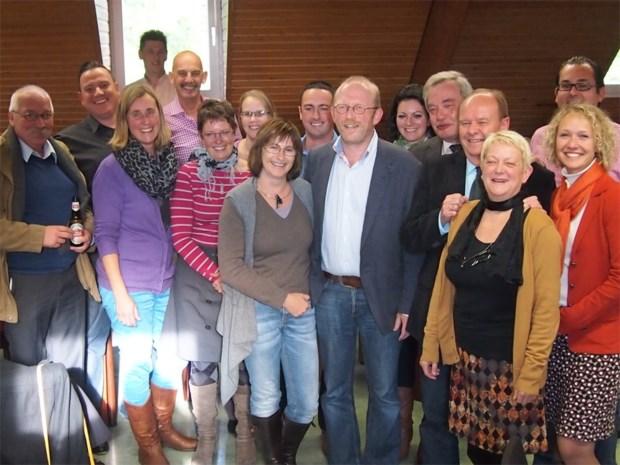 Rik Frans legt eed burgemeester af