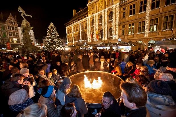 Winter in Antwerpen officieel van start