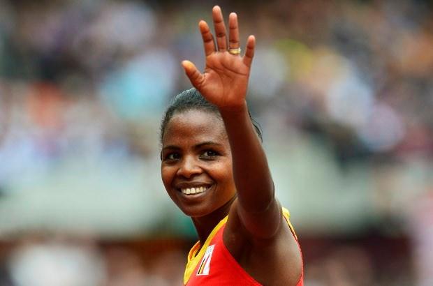Net geen medaille voor veldloopster Almensh Belete
