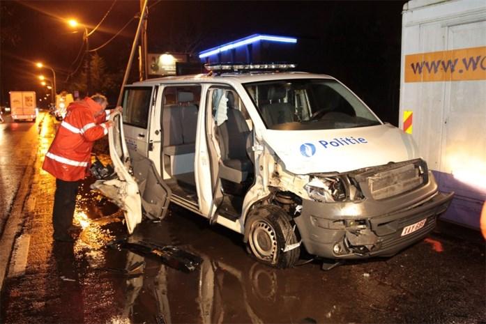 Gewonden bij ongeval met politiecombi