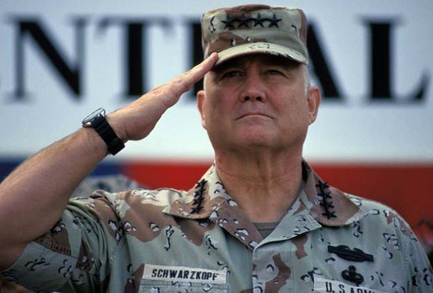 VS-generaal Norman Schwarzkopf overleden
