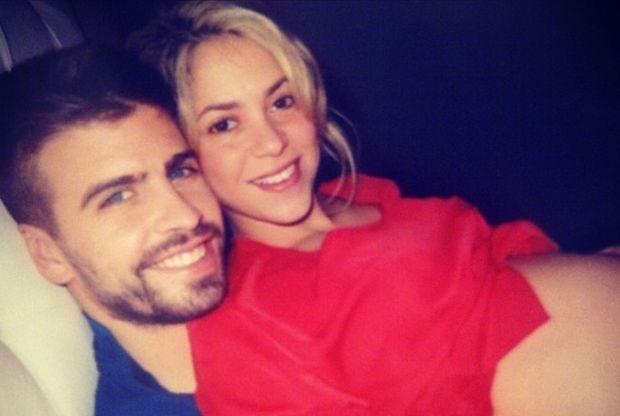 Piqué en Shakira veinsden geboorte zoontje