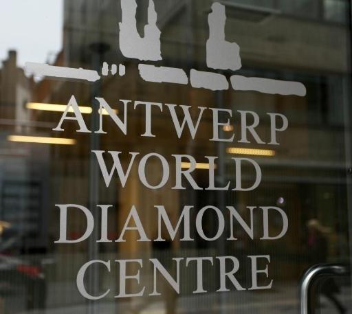 Antwerpse diamanthandel gedaald in 2012
