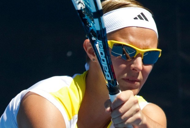 Geen finale voor Kirsten Flipkens in Hobart