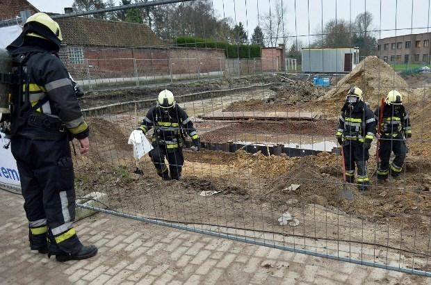 School even ontruimd in Grembergen na gaslek op straat