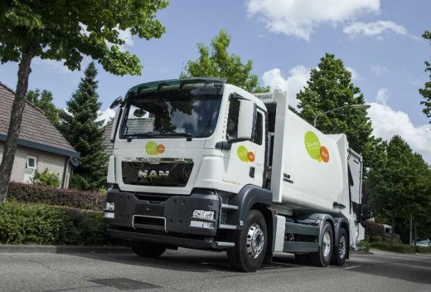 Primeur voor Antwerpen: eerste elektrische vuilniswagen