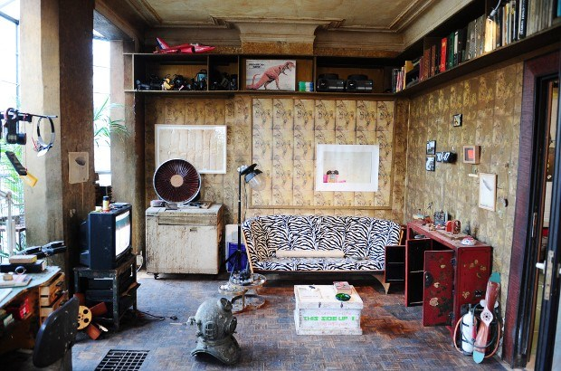 Gerestaureerd Panamarenko-huis geopend