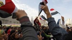 Egyptenaren protesteren tegen islamregering