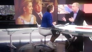 Martine Tanghe presenteert Het Journaal op sportschoenen
