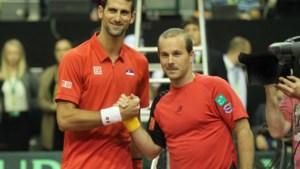 Djokovic brengt België op 0-2 achterstand