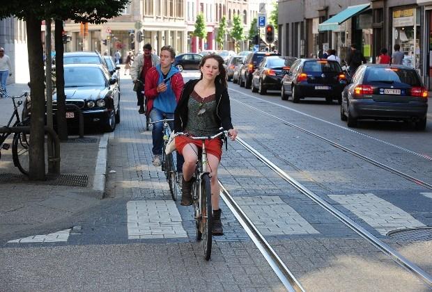 Groene stroom voor fietsers