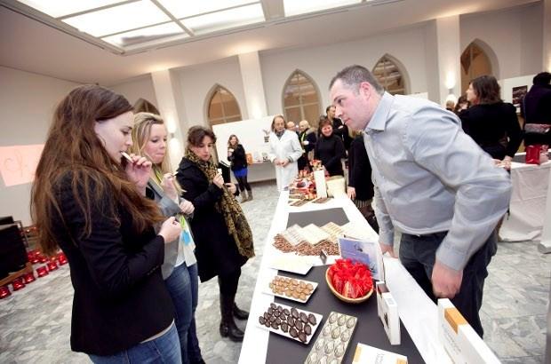 Studenten KdG stellen Antwerp Chocolate Week voor