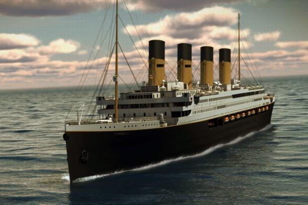 Miljardair onthult plannen voor Titanic II (fotoalbum)