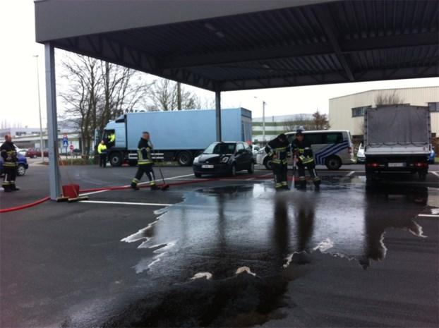 Mazout gestolen uit vrachtwagen
