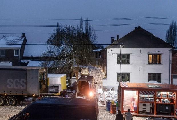 Inval in boerderij leidt tot ontdekking van drugslabo in Bilzen