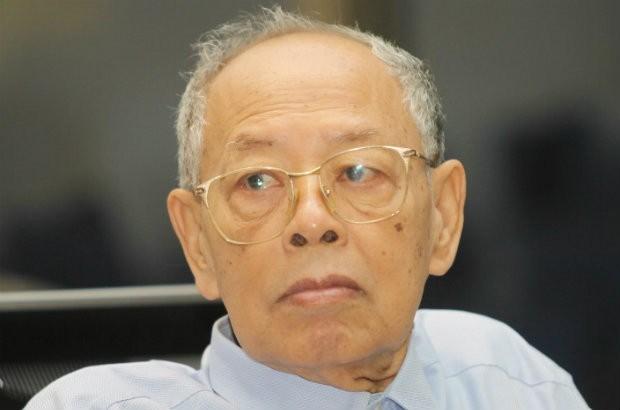 Rode Khmer-kopstuk overleden