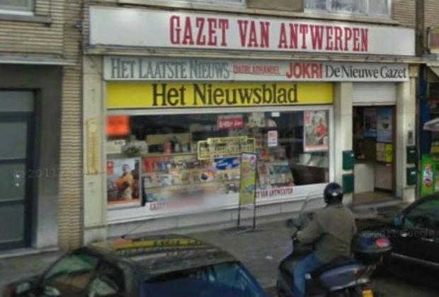 Overval op krantenwinkel Maurits Sabbelaan