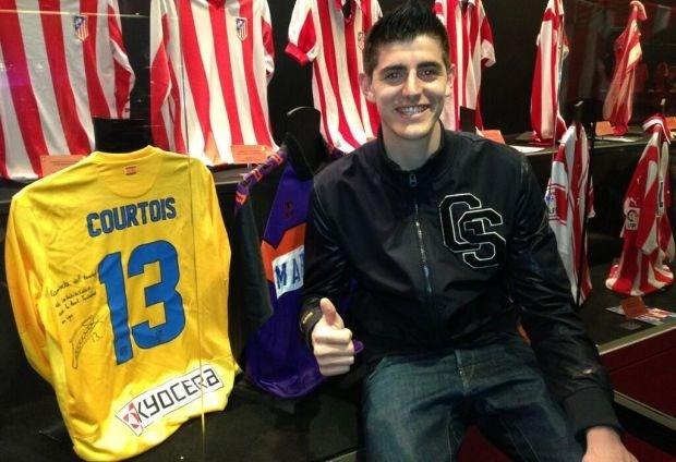 Truitje van Courtois krijgt plaats in clubmuseum Atlético