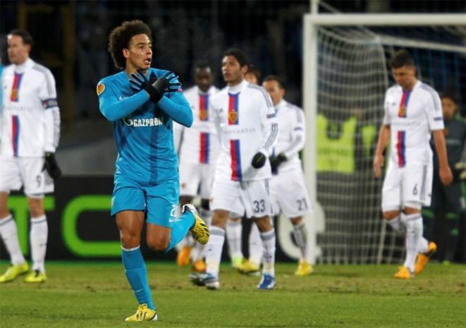 Scorende Witsel kan Zenit niet in Europa League houden