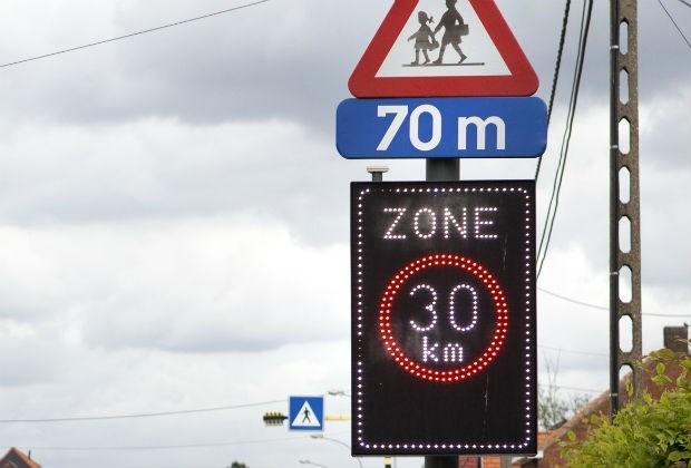 118 chauffeurs geflitst in zones 30