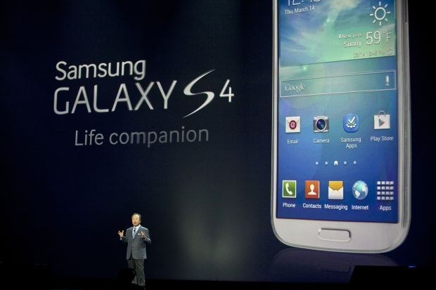 Samsung lanceert Galaxy S4