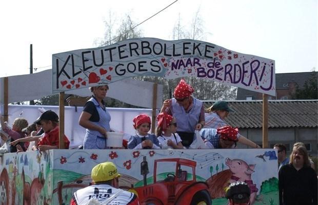 Kindercarnaval rijdt voor 41ste keer uit