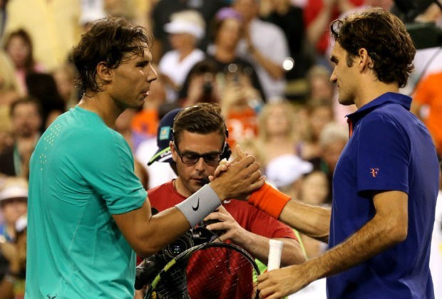 Nadal gunt Federer zes games in Indian Wells
