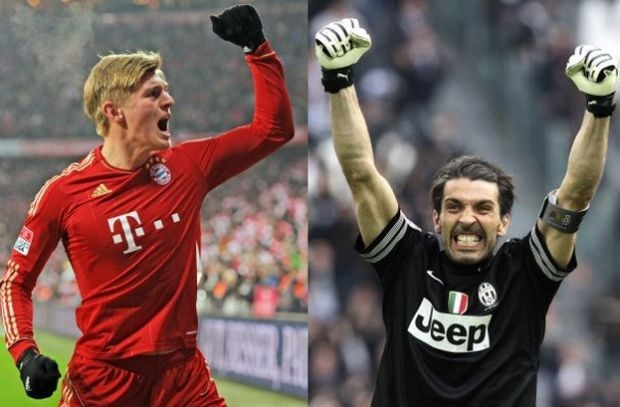 Bayern-Juve is topaffiche in kwartfinales Champions League