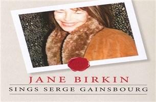 CD: Sings Serge Gainsbourg -  Jane Birkin (***)