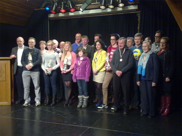 Jaques VanderVeken neemt afscheid tijdens uitreiking Sportlaureaat