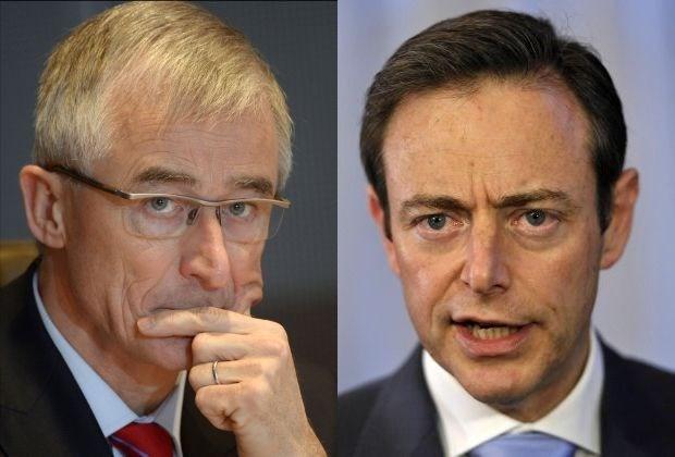 """De Wever: """"Bourgeois is zeer ambitieus"""" (video)"""