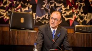 Colemont spreekt Antwerpse burgemeesters toe over darmkanker