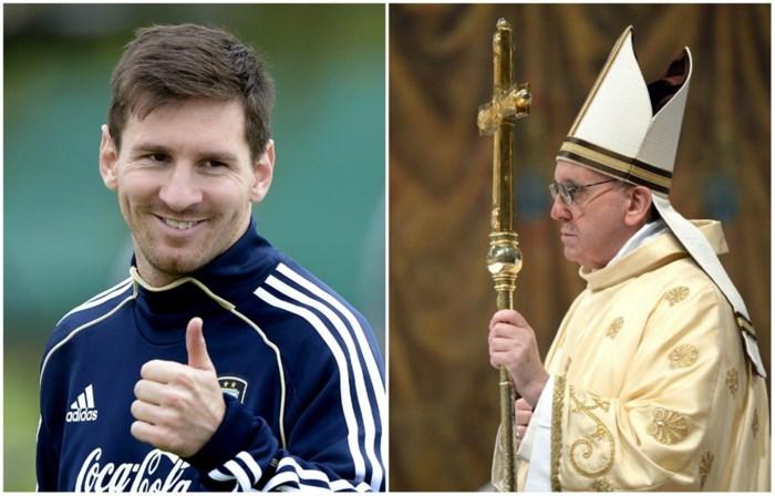 """Messi: """"Fier dat paus een Argentijn is"""""""