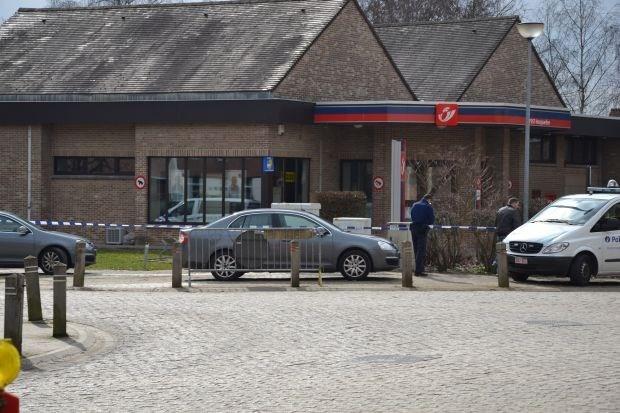 Onbekende overvalt postkantoor in Hoegaarden