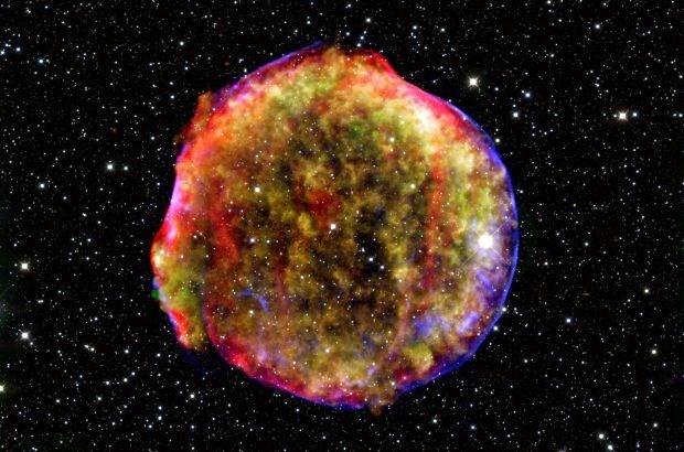 Supernova liet mogelijk spoor na op aarde