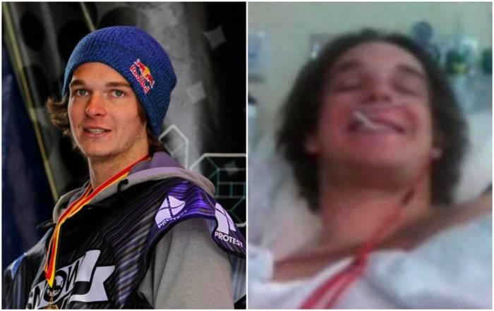 Snowboarder Seppe Smits breekt zijn arm