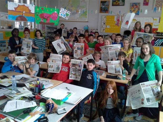 6A leert alles over de krant