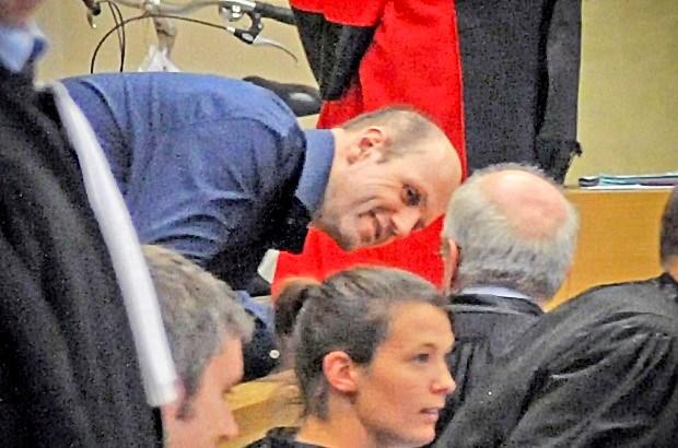 Ronald Janssen op 2 mei voor het hof van beroep