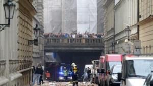 Gebouw ingestort na krachtige explosie in Praag
