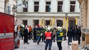 Geen doden bij gasexplosie in Praag