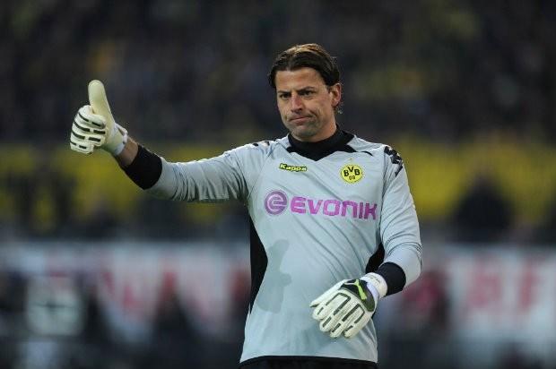 Doelman Weidenfeller blijft Borussia Dortmund trouw
