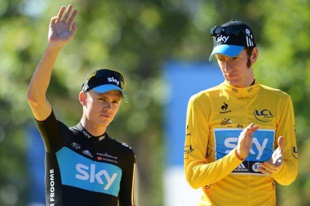 Froome en niet Wiggins aangeduid als Tour-kopman