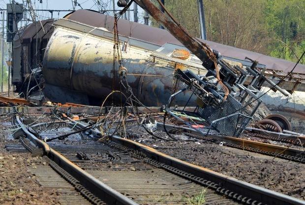 47 bewoners van woningen dicht bij treinwrak kunnen nog lang niet naar huis