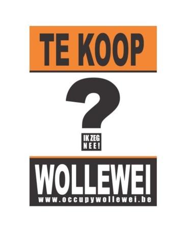 Jeugd start met affichecampagne tegen verkoop Wollewei