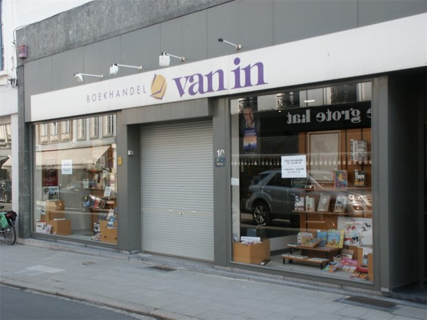 Boekhandel Van In is failliet