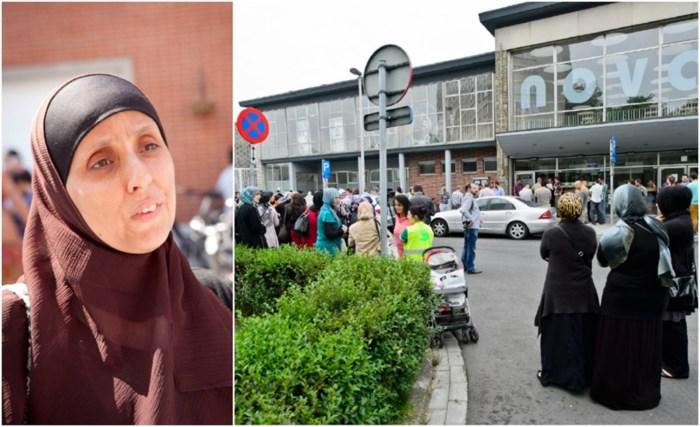 Moeder die klacht indiende wil betoging aanvragen