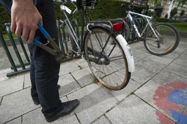 """""""Beste fietsendief, verstuur mijn post"""""""