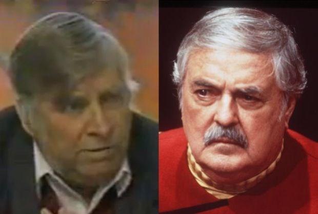 As van Star Trek-regisseur en -acteur de ruimte ingestuurd