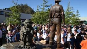 George Lucas onthult standbeelden van Indiana Jones en Yoda