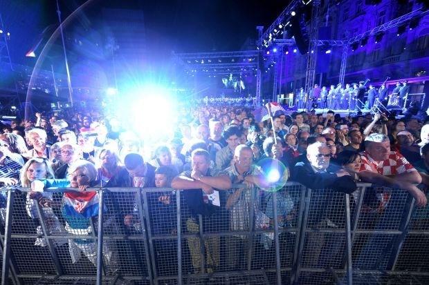 Duizenden Kroaten vieren lidmaatschap van EU